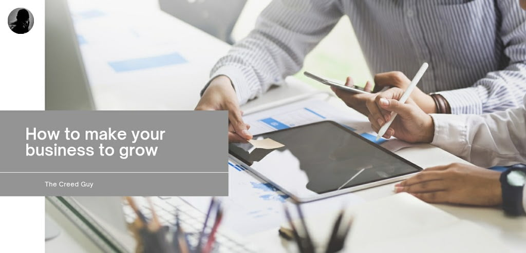 how to make your business to grow