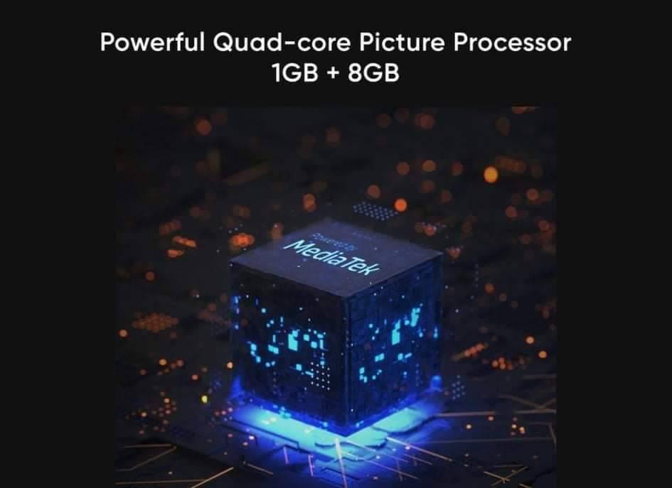 powerful quad-core picture processor