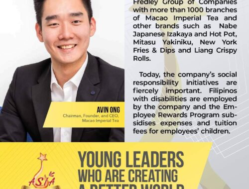 young leader employs people with disabilities