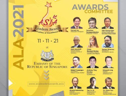 public launching of asia leaders awards 2021