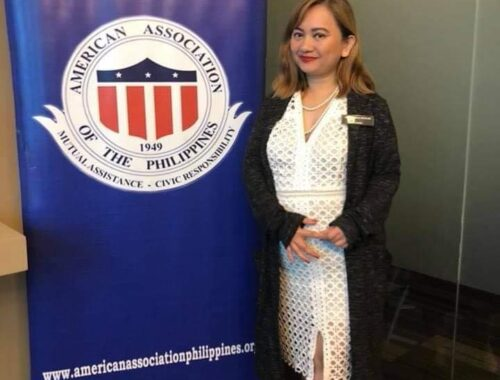 Grace Bondad Nicolas was named as the first woman President of the American Association of the Philippines