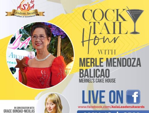 Asia Leaders Awards Cocktail Hour with Mernels