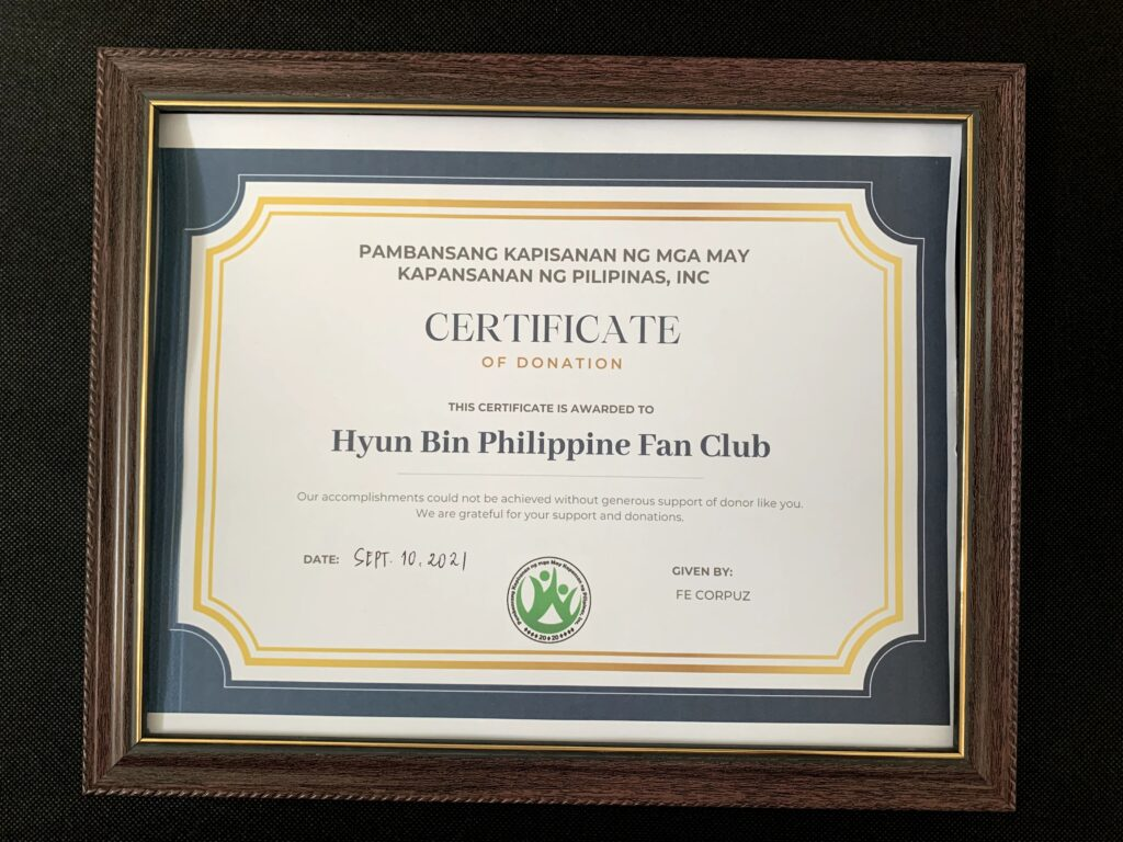 Hyun Bin Philippines Fan Club